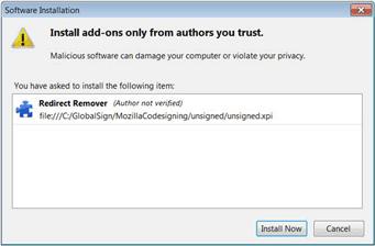 Certificado Code Signing Firefox Não seguro
